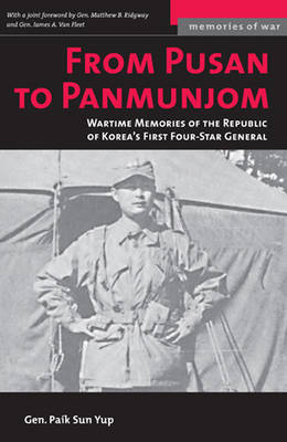 From Pusan to Panmunjon (M) (Paperback)