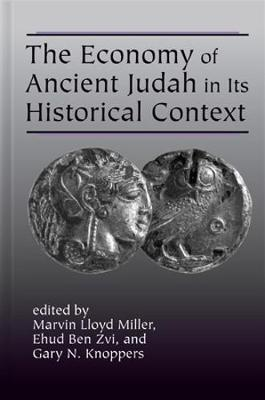 The Economy of Ancient Judah in Its Historical Context (Hardback)