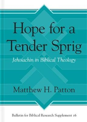 Hope for a Tender Sprig: Jehoiachin in Biblical Theology - Bulletin for Biblical Research Supplement 16 (Hardback)