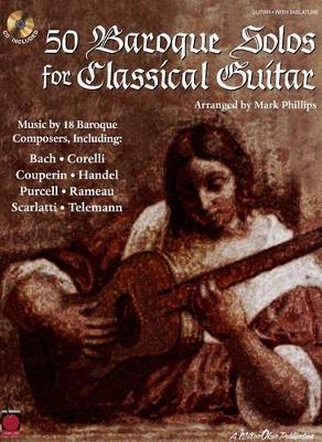 50 Baroque Solos For Classical Guitar (Paperback)
