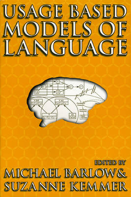 Usage-Based Models of Language (Hardback)