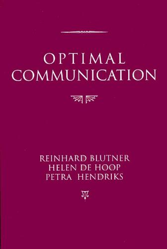 Optimal Communication - Lecture Notes (Paperback)