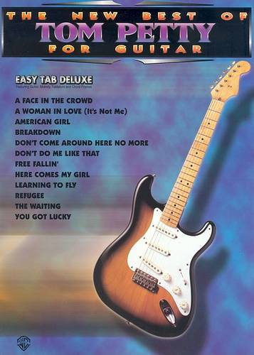 New Best of Tom Petty for Guitar: Easy Tab Deluxe (Paperback)