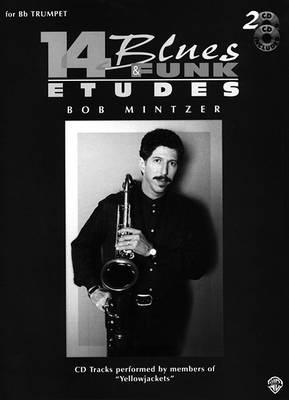 14 Blues and Funk Etudes: For 'E Flat' Instruments (Alto Sax, Baritone Sax) (Paperback)