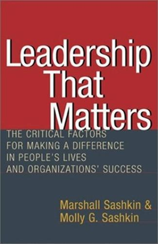 Leadership That Matters (Paperback)