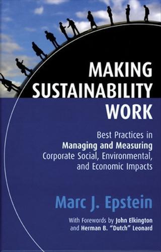 Making Sustainability Work (Hardback)