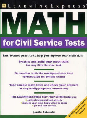 Math for Civil Service Workers (Paperback)