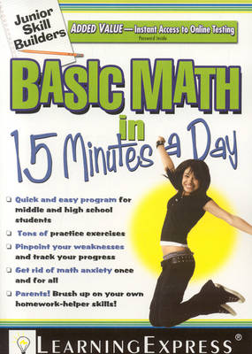 Basic Math in 15 Minutes a Day: Junior Skill Builder (Paperback)
