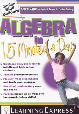 Algebra in 15 Minutes a Day (Paperback)