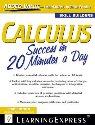 Calculus Success in 20 Minutes a Day - 20 Minutes a Day (Paperback)