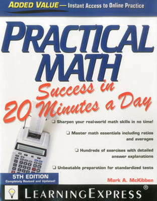 Practical Math Success in 20 Minutes a Day - 20 Minutes a Day (Paperback)