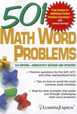 501 Math Word Problems - 501 Series (Paperback)