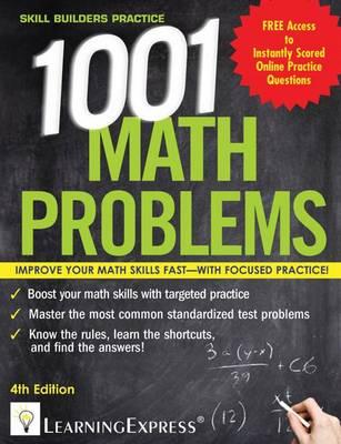 1,001 Math Problems (Paperback)