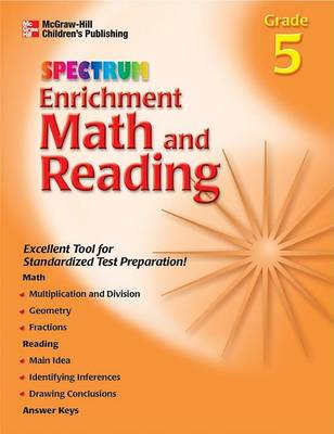 Enrichment Math and Reading Grade 5 (Paperback)