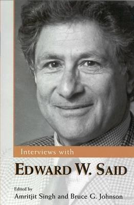 Interviews with Edward W. Said (Paperback)