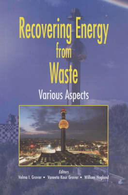 Recovering Energy from Waste: Various Aspects (Hardback)