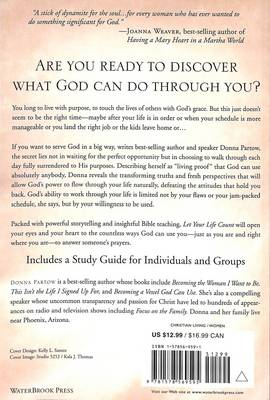 Let your Life Count: Only God Knows What He Can Do Through You (Paperback)