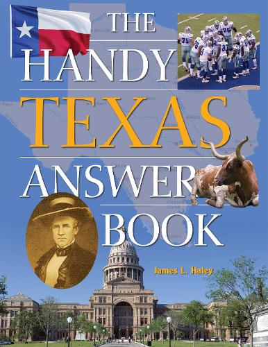 The Handy Texas Answer Book (Paperback)