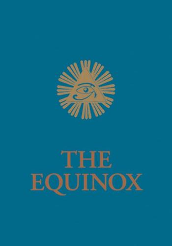 Blue Equinox: The Equinox, Vol. III, No. 1 - Equinox Series (Paperback)