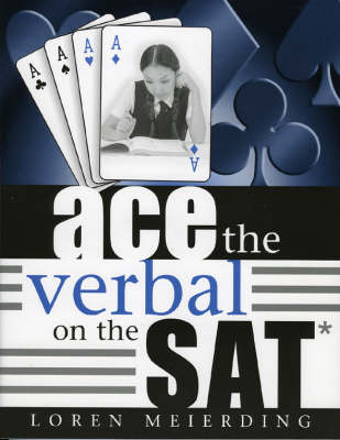 Ace the Verbal on the SAT (Paperback)