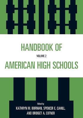 Handbook of American High Schools: v. 2 (Paperback)