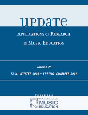 Update: v. 25: Applications of Research in Music Education (Hardback)