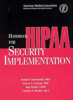 Handbook for HIPAA Security Implementation (Spiral bound)