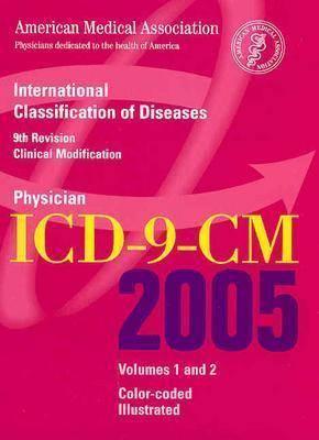 AMA Physician ICD-9-CM 2005: v.1 & 2 (Spiral bound)