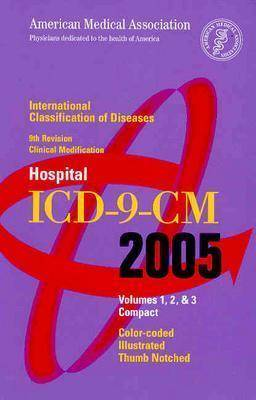 AMA Hospital ICD-9-CM 2005: v. 1, 2 & 3 (Paperback)