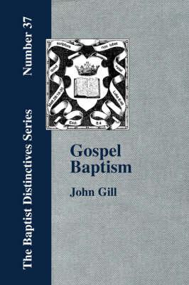 Gospel Baptism. (Paperback)