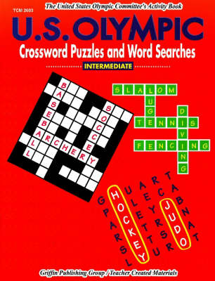US Olympic Crossword Puzzles & Word Searches: Intermediate (Paperback)