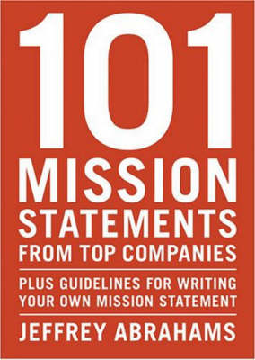 101 Mission Statements from Top Companies (Paperback)