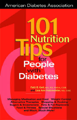 101 Nutrition Tips for People with Diabetes (Paperback)