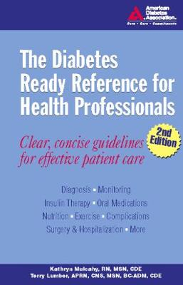 The Diabetes Ready Reference for Health Professionals (Spiral bound)