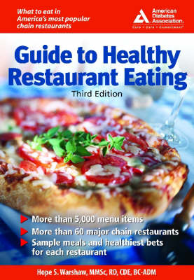 American Diabetes Association Guide to Healthy Restaurant Eating (Paperback)