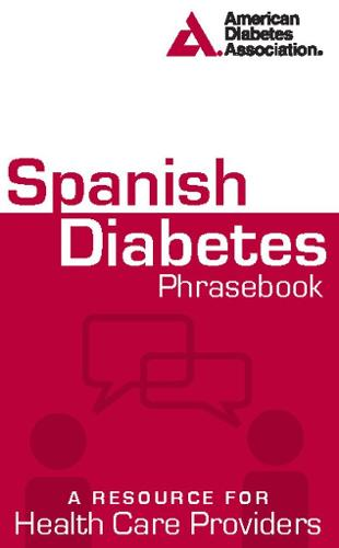 Spanish Diabetes Phrasebook (Paperback)