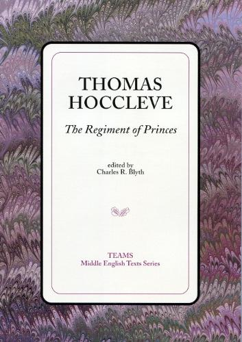 The Regiment of Princes - TEAMS Middle English Texts Series (Paperback)