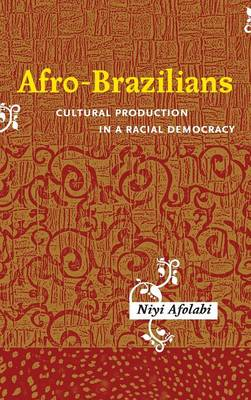 Afro-Brazilians: Cultural Production in a Racial Democracy - Rochester Studies in African History and the Diaspora v. 39 (Hardback)