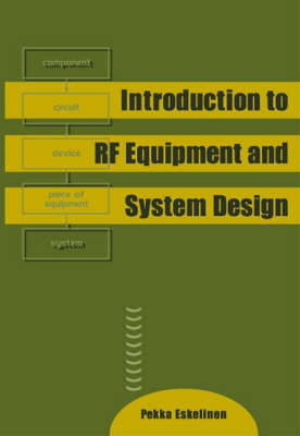 Introduction to RF Equipment and System Design - Radar Library S. (Hardback)