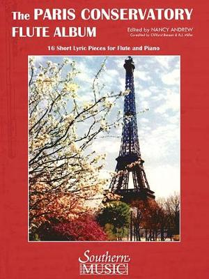 Paris Conservatory Flute Album: 16 Short Lyric Pieces For Flute And Piano (Paperback)