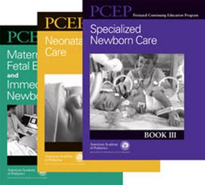 Perinatal Continuing Education Program (Pcep) Neonatal Set: 3-Book Set - Perinatal Continuing Education Program (Paperback)