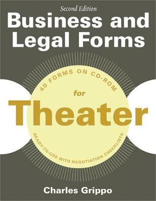 Business and Legal Forms for Theater, Second Edition (Paperback)