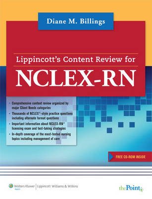 Lippincott's Content Review for NCLEX-RN (Paperback)