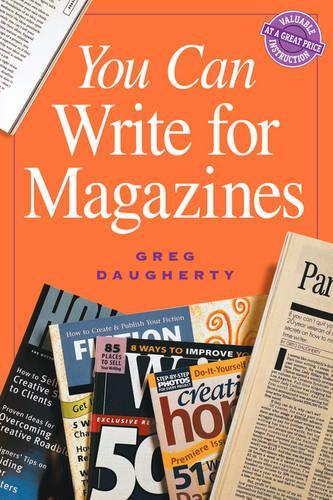 You Can Write for Magazines (Paperback)