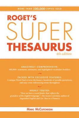 Roget's Super Thesaurus (Paperback)