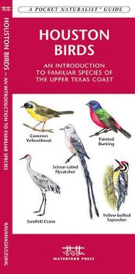 Houston Birds: A Folding Pocket Guide to Familiar Species of the Upper Texas Coast - Pocket Naturalist Guide Series