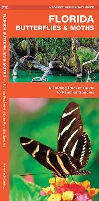 Florida Butterflies & Moths: A Folding Pocket Guide to Familiar Species - Pocket Naturalist Guide Series