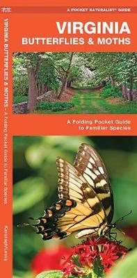 Virginia Butterflies & Moths: A Folding Pocket Guide to Familiar Species - Pocket Naturalist Guide Series