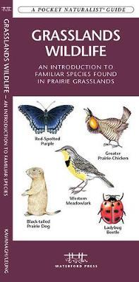 Grasslands Wildlife: A Folding Pocket Guide to Familiar Species Found in Prairie Grasslands - Pocket Naturalist Guide Series