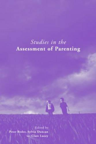 Studies in the Assessment of Parenting (Paperback)